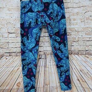 e5c642cc110ecb LuLaRoe Pants | Os Unicorn Elephant Mandala Leggings | Poshmark